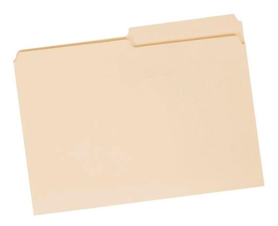 Carpetas Amarillas Manila Carta X20 Oficinatuya