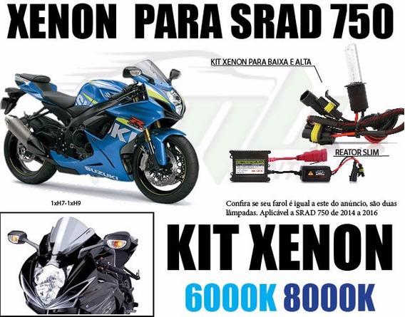 Xenon Moto Suzuki Gsx R750 Srad 2014 2015 2016 Alto E Baixo