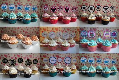 Cupcakes/tortas/gelatinas/galletas Decoradas Por Encargo