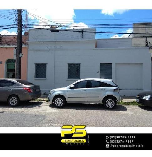 Casa À Venda, 200 M² Por R$ 350.000,00 - Centro - João Pessoa/pb - Ca0853