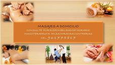 Masajes Terapeuticos A Domicilio Y En Sala Propia
