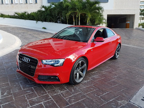 Audi A5 2.0t S-line 255hp Stronic 2016 Rojo