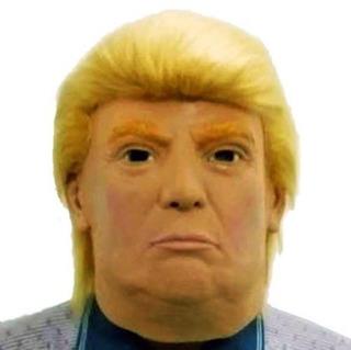 Mascara Latex Donald John Trump Con Pelo Presidente Eeuu Usa