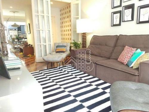 Apartamento Com 3 Dormitórios À Venda, 156 M² Por R$ 2.332.000,00 - Copacabana - Rio De Janeiro/rj - Ap3874