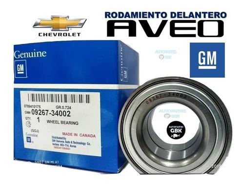 Rodamiento Rolinera Delantero Aveo 2009 2010 2011 2012 2013