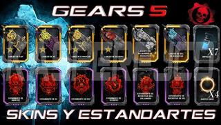 Códigos Para Canjear Skins Para La Lancer De Gears Of War 5