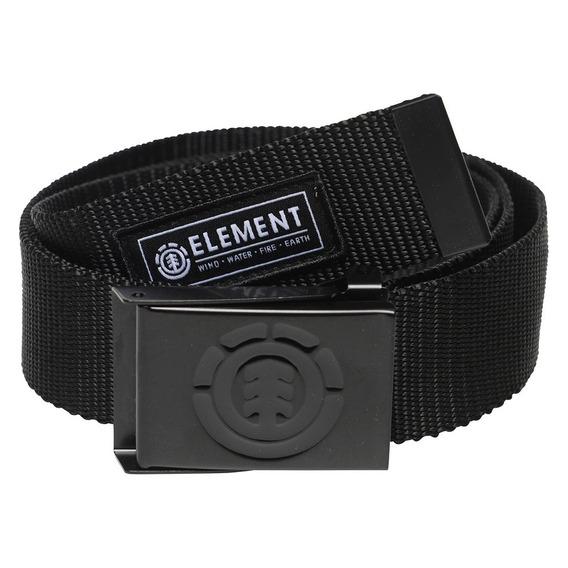 Cinturón Element Beyond Belt Negro Hombre