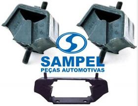 Kit 03 Calço Coxim Motor Câmbio Omega / Suprema 3.0 4.1 Novo