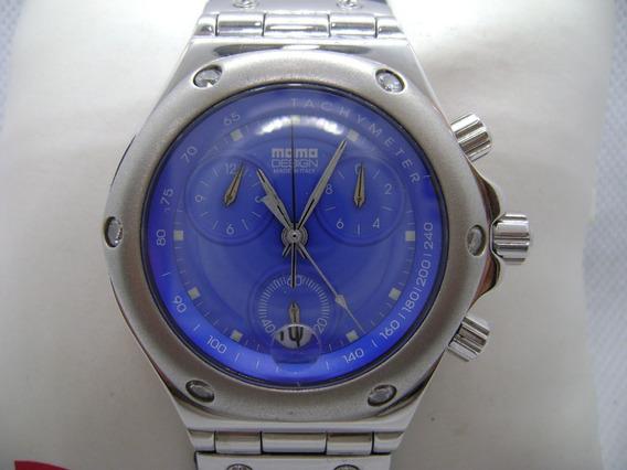 Reloj Momo Disign Cronografo Original Italiano