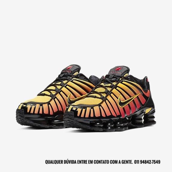 Nike Shox Tl 12 Molas - Sunrise