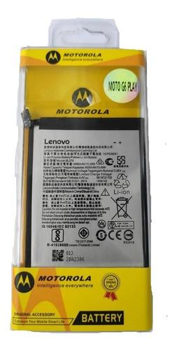 Imagen 1 de 1 de Bateria Pila Para Motorola Moto G6 Play Xt1922  Bl270