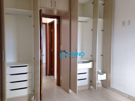 Apartamento Com 2 Dormitórios À Venda, 76 M² Por R$ 380.000 - Parque Florence - Valinhos/sp - Ap0300