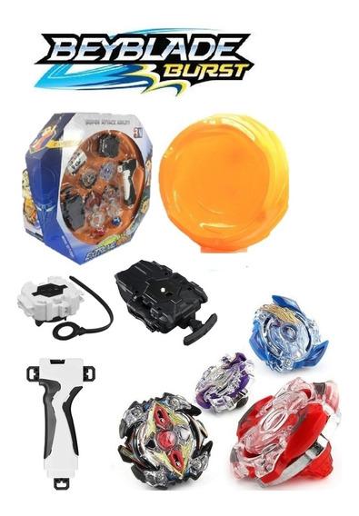 Arena Beyblade Storm Gyro 2 Beyblade 2 Lançador 4troca Novo