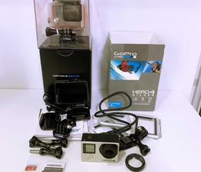 Gopro Hero4 Silver | Tela Touchscren| Cartão 32gb | Na Caixa