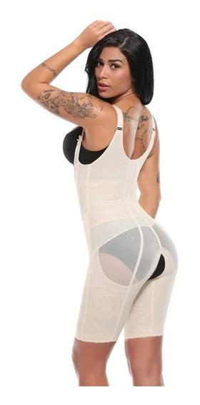 Cinta Body Macacão Modelador Redutor Afina Cintura E Postura