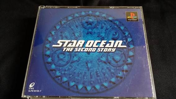 Star Ocean The Second Story Original Playstation One Ps1 Se
