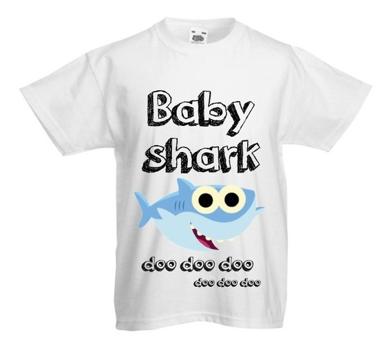 Paquete Familiar De 4 Playeras Baby Shark
