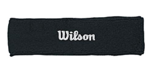 Cintillo Sudadera Para Tenis Wilson Negro