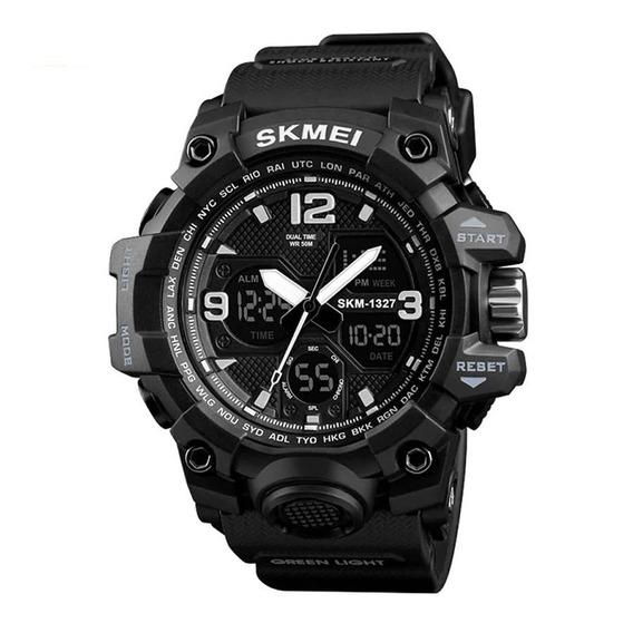 Relógio Skmei Tático Militar Preto Modelo G-shock Digital