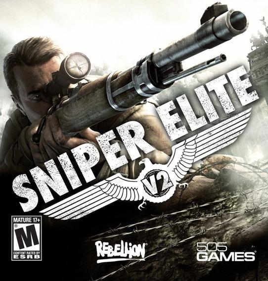 Sniper Elite V2 Pc - Steam Key (envio Já)