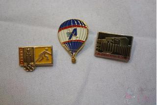 2 Botons Russo E Olimpiada 1980 E 1 Pin Da Tva Cchic