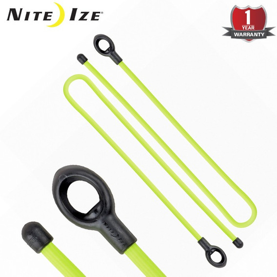 """6-Pack of 4 Nite Ize Gear Tie Cordable Twist Tie 3/"""" Assorted Cord Organizers"""