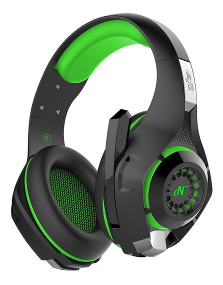 Auriculares Headset Gold New 7.1 Para Sony Ps4 Green