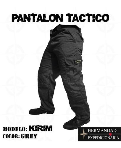 Pantalon Tactico Gris Caballero Pantalon Ranger Mercado Libre