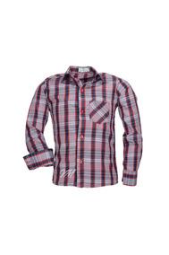 Camisa Infantil Alfa Tecido Misto Xadrez Junino - Cor 05 -