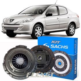 Kit Embreagem Peugeot 207 1.4 8v Flex 2008 A 2016 Sachs