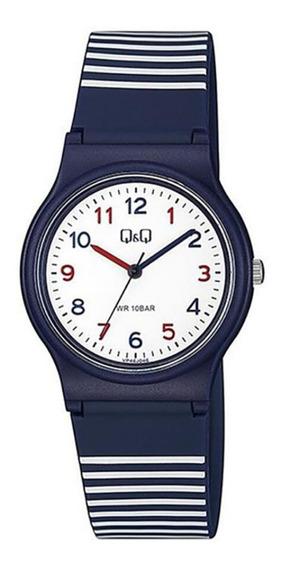 Relógio Infantil Masculino Q&q Azul E Vermelho Prova D