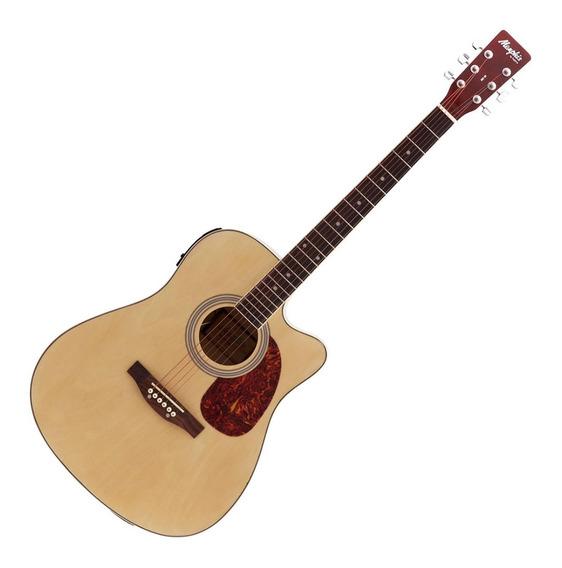 Violão Elétrico 6 Cordas Folk Memphis Natural Md18 Tagima
