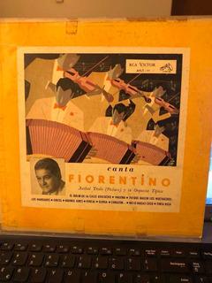 Canta Fiorentino Antiguo Disco Tango