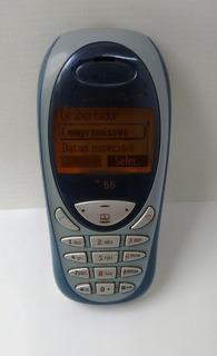 Siemens C55 Semi Novo Na Caixa Original