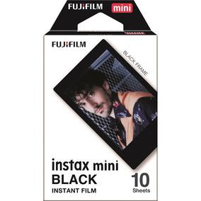 Filme Instantâneo Fujifilm Instax Mini Black Pacote 10 Fotos