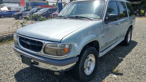 Ford Explorer Xlt Azul 1995