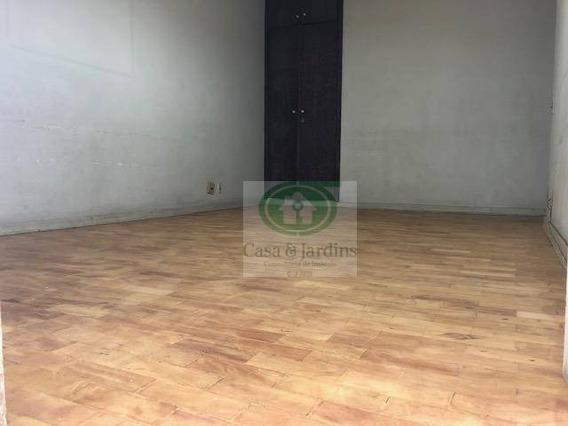 Apartamento Em Santos, Com Terraço E Vista Mar, 2 Dormitórios/2 Banheiros, Sem Vaga À Venda, 97 M² Por R$ 420.000,00 - Pompéia - Ap6056