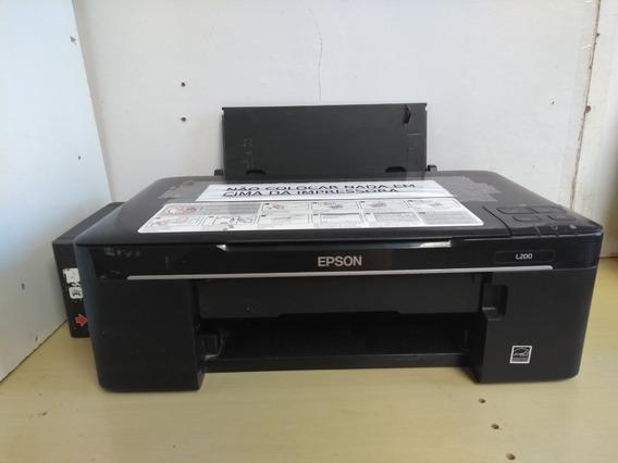 Impressora Epson L200 Com Problema Na Impressão