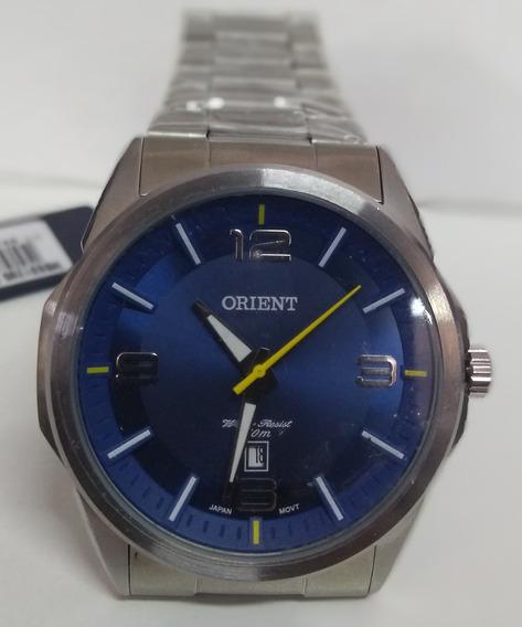 Relógio Orient Masculino Sport Mbss1265 Prateado Original