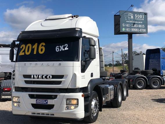 Iveco Stralis 440 6x2 Ano 2016 Trucado