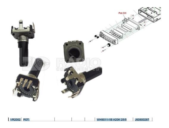 Potenciômetro Canal Cal P/ Rádio Ft1807 Ft1900 Yaesu Vr2002