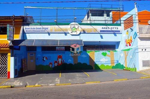 Casa Comercial Para Locação, 1022 M², 4 Vagas - Campestre - Santo André / Sp  - 101266