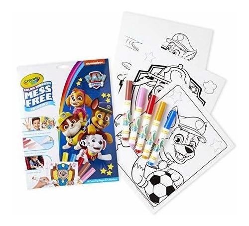 Color Crayola Dibujo Marcador Colorear Paw Patrol Patrulla