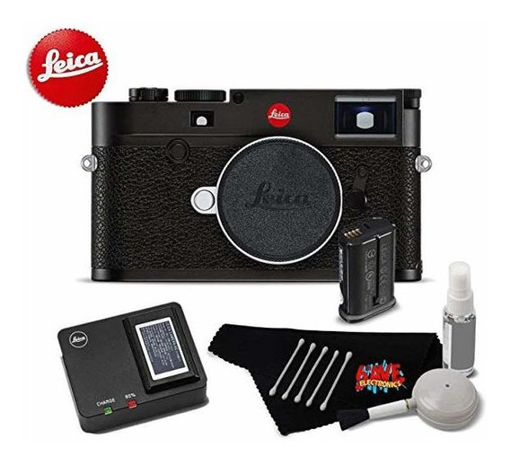 Camara Leica M10 Digital Rangefinder 24mp 20000 Black B 5672