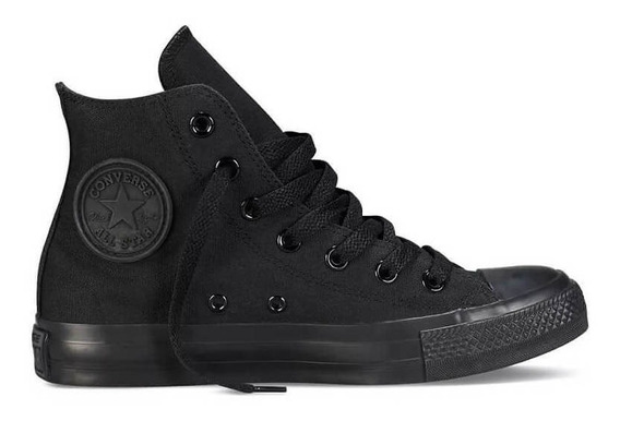 Tenis All Star Converse Monochrome Hi Chuck Taylor Original