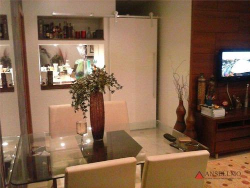 Apartamento Com 3 Dormitórios À Venda, 80 M² Por R$ 408.000,00 - Planalto - São Bernardo Do Campo/sp - Ap0386
