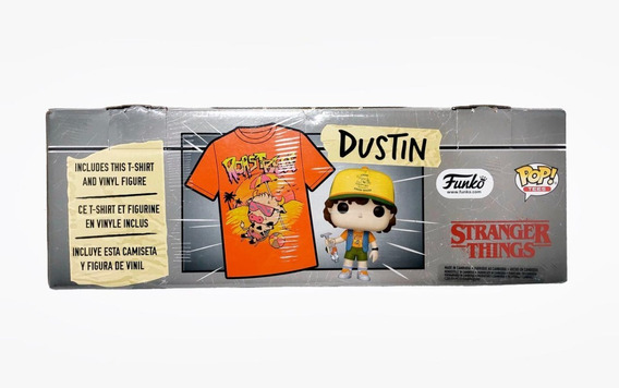 Stranger Things Playera Mas Figura Edicion Limitada