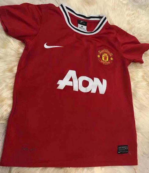 Camiseta Manchester United Niño Talle Small