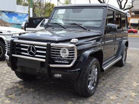 Mercedes Benz Clase G 500 2013 Negro