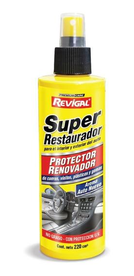Super Renovador Restaurador Para Cueros Plasticos Y Vinilos Revigal